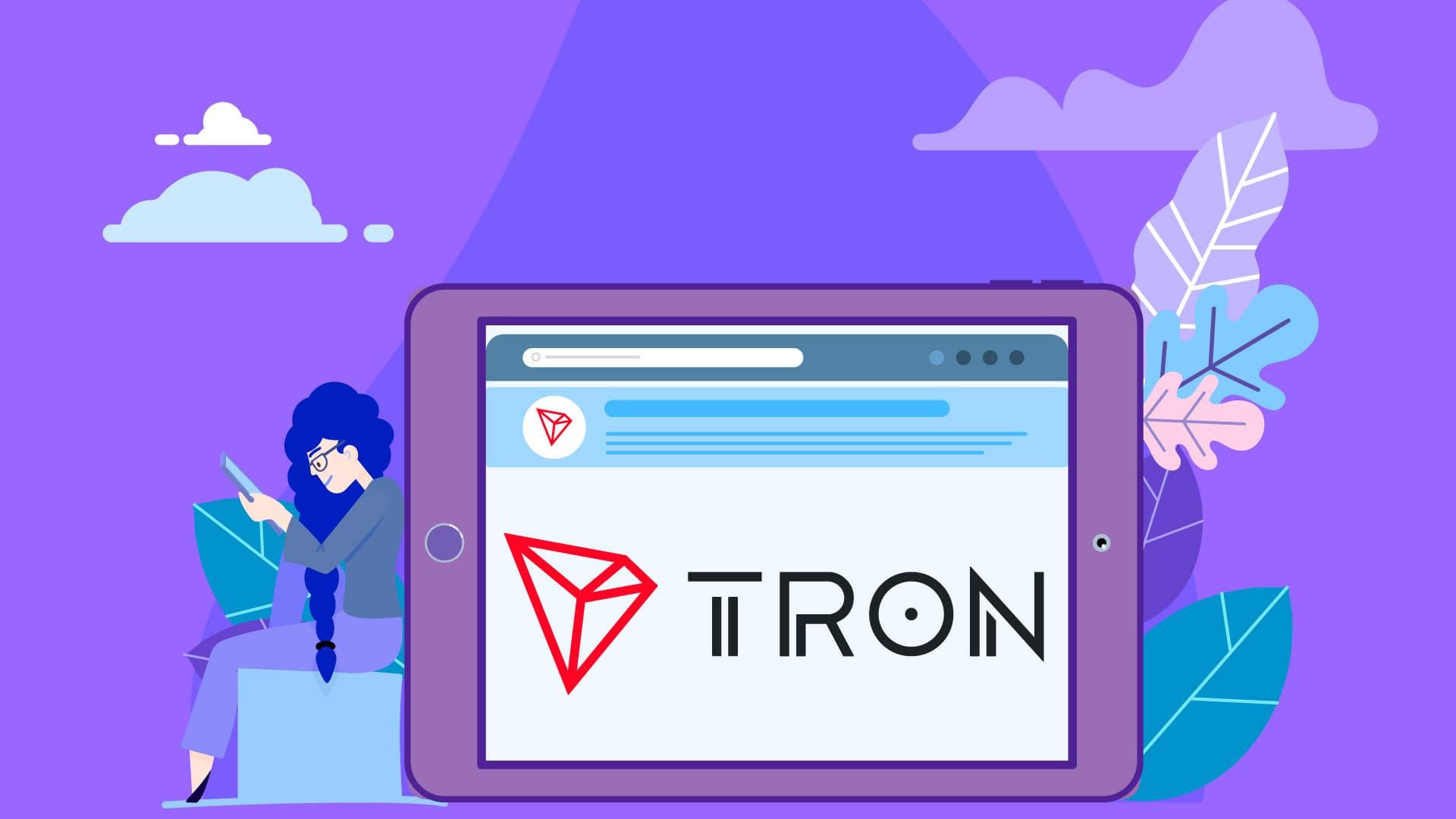 Tron (TRX) News